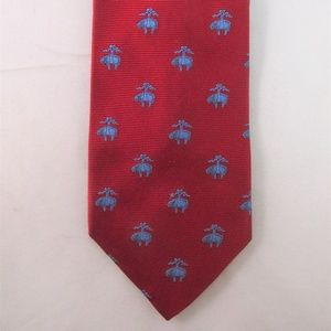 Brooks Bros. Men's Logo Silk Tie